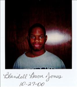 Blandell Devvron Jones a registered Sex Offender of Delaware