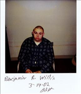 Benjamin Ray Willis a registered Sex Offender of Delaware