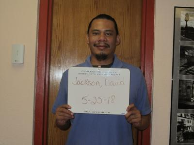 David Everett Jackson a registered Sex or Violent Offender of Oklahoma