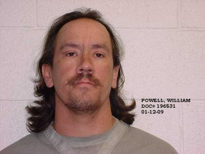William B Powell a registered Sex or Violent Offender of Oklahoma