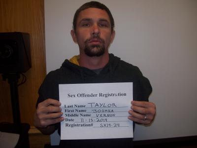 Joshua V Taylor a registered Sex or Violent Offender of Oklahoma