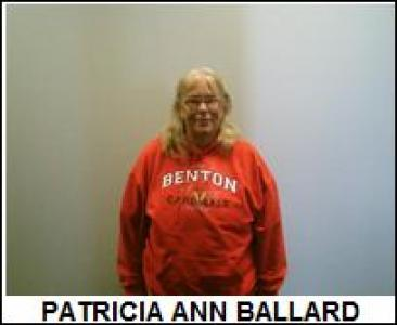 Patricia Ann Ballard a registered Sex or Violent Offender of Oklahoma