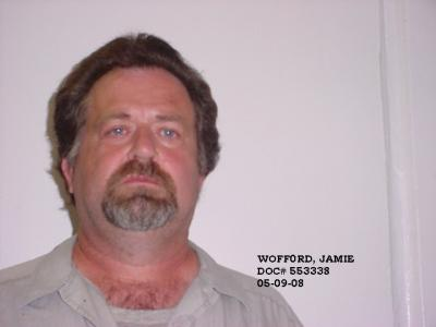 Jamie Allen Wofford a registered Sex or Violent Offender of Oklahoma