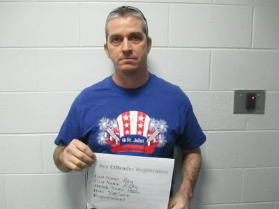 Ricky Paul Ray a registered Sex or Violent Offender of Oklahoma
