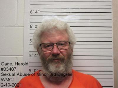 Harold Edward Gage a registered Sex Offender of Wyoming