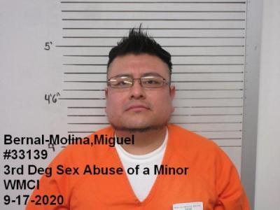 Miguel Bernal-molina a registered Sex Offender of Wyoming