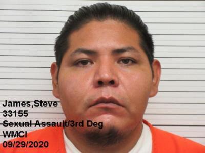 Steve Runningbear James a registered Sex Offender of Wyoming
