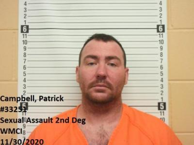 Patrick Campbell a registered Sex Offender of Wyoming
