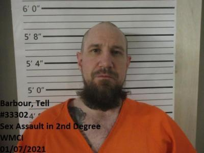 Tell Barbour a registered Sex Offender of Wyoming