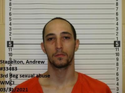 Andrew Stapelton a registered Sex Offender of Wyoming