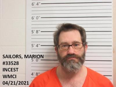 Marion Sailors a registered Sex Offender of Wyoming
