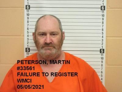 Martin James Peterson a registered Sex Offender of Wyoming