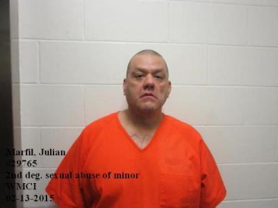 Julian Robert Marfil a registered Sex Offender of Wyoming