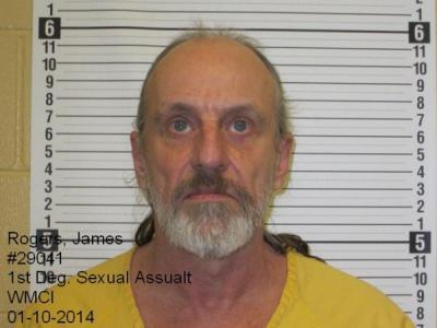 James Edward Rogers a registered Sex Offender of Wyoming
