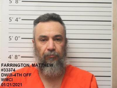 Matthew Mikel Farrington a registered Sex Offender of Wyoming