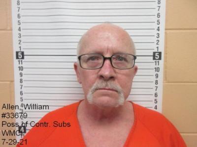 William Gene Allen a registered Sex Offender of Wyoming