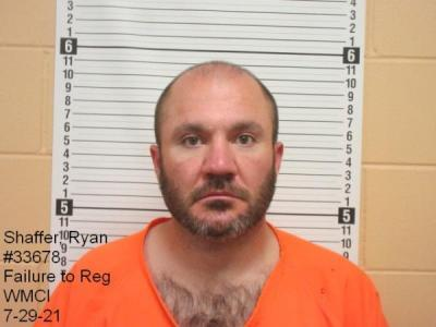 Ryan Garret Shaffer a registered Sex Offender of Wyoming
