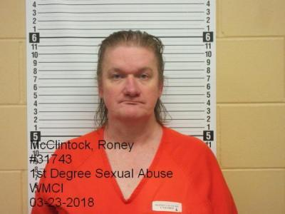 Roney Lee Mcclintock a registered Sex Offender of Wyoming