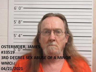 James Arthur Ostermeier a registered Sex Offender of Wyoming
