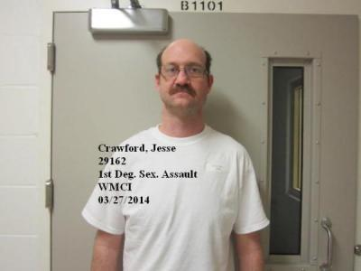 Jesse Edward Crawford a registered Sex Offender of Wyoming