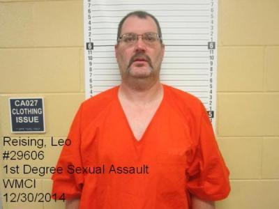 Leo Reising a registered Sex Offender of Wyoming