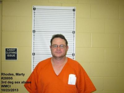 Marty Wayne Rhodes a registered Sex Offender of Wyoming
