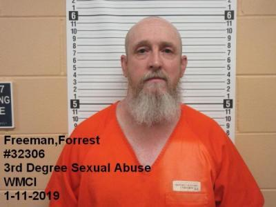 Forrest Eugein Freeman a registered Sex Offender of Wyoming