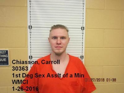 Carroll Michael Chiasson a registered Sex Offender of Wyoming