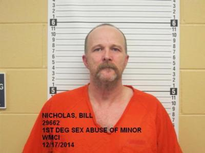 Bill Geice Nicholas a registered Sex Offender of Wyoming