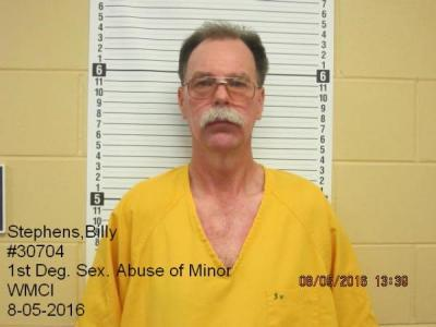 Billy Stephens a registered Sex Offender of Wyoming
