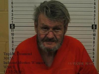 Desmond Triplett a registered Sex Offender of Wyoming