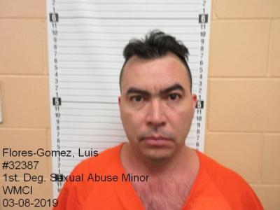 Luis Flores-gomez a registered Sex Offender of Wyoming