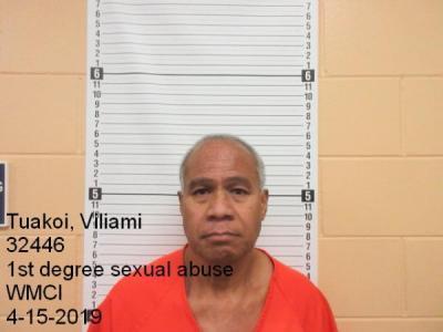 Viliami Tuakoi a registered Sex Offender of Wyoming