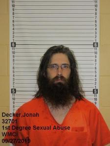 Jonah Josiah Decker a registered Sex Offender of Wyoming