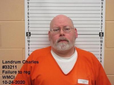 Charles Goldner Landrum a registered Sex Offender of Wyoming