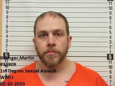 Martin Allen Ridinger a registered Sex Offender of Wyoming