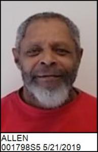 Alvin Ray Allen a registered Sex Offender of North Carolina