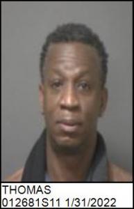Kelvin Dewan Thomas a registered Sex Offender of North Carolina