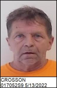 Barry Edward Crosson a registered Sex Offender of North Carolina