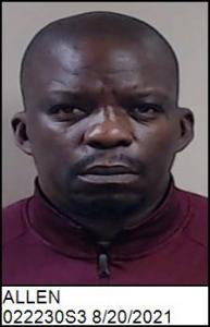 Andre Terrell Allen a registered Sex Offender of North Carolina