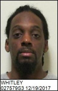 Derrell Rashad Whitley a registered Sex Offender of North Carolina