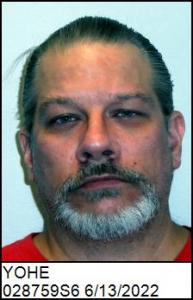 Cornelius Ernie Yohe a registered Sex Offender of North Carolina