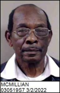 John Albert Mcmillian a registered Sex Offender of North Carolina