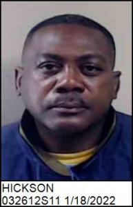 Timothy Wayne Hickson a registered Sex Offender of North Carolina