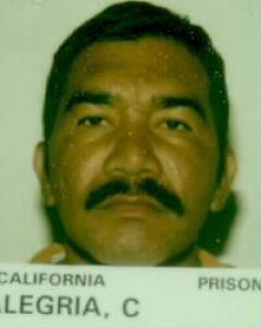 Carlos Alegria a registered Sex Offender of California