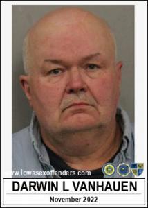 Darwin Lee Vanhauen a registered Sex Offender of Iowa
