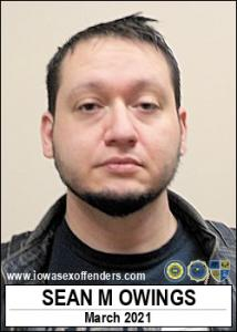 Sean Michael Owings a registered Sex Offender of Iowa