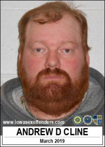 Andrew Donald Cline a registered Sex Offender of Iowa