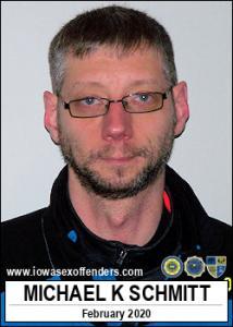 Michael Kenneth Schmitt a registered Sex Offender of Iowa