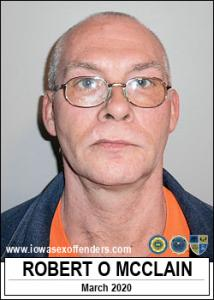 Robert Owen Mcclain a registered Sex Offender of Iowa